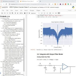 Python Applications for Digital Design and Signal Processing