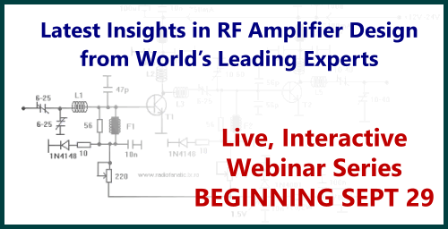 RF Amplifier Design webinar course