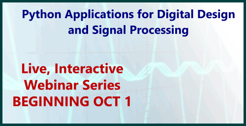 Python Applications for Digital Design & Signal Processing Course Description